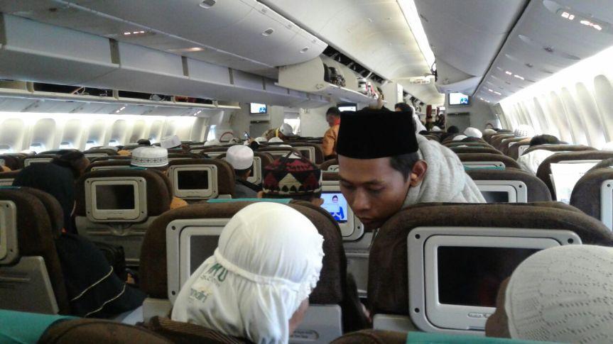 Perjalanan Ruhani ke Tanah Suci, Jakarta-Jeddah (1)